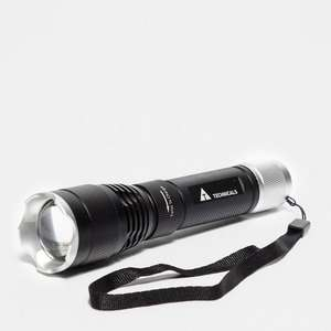 Technical 10W Cree Aluminium Rechargeable Torch - £20 @ Millets