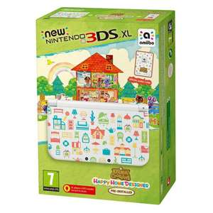 New Nintendo 3DS XL console Animal Crossing: Happy Home Designer Edition £134.99 @ Nintendo Store