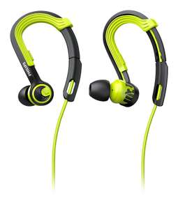 Philips SHQ1400 ActionFit Wired In-Ear Headphones - Green £9.99 @ Argos (Free C&C)