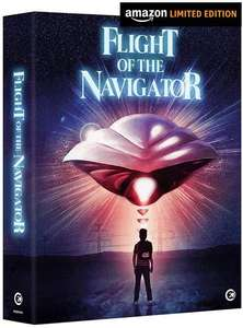 Flight of the Navigator [Region Free] Limited Edition bluray artwork book and poster £15 + £2.99 delivery non prime @ Amazon