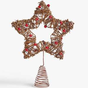 Christmas tree decorations reduced to clear at John Lewis & Partners