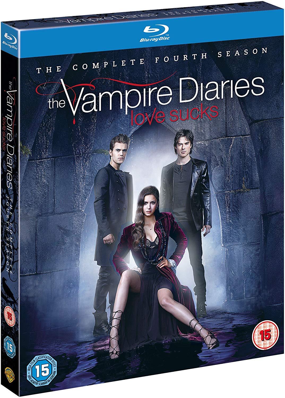 The Vampire Diaries - Season 4 Blu-Ray + UV Copy [2013] £3.99 Prime / £6.98 Non Prime Sold by HarriBella.UK.Ltd and Fulfilled by Amazon