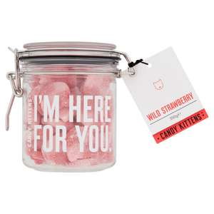 Voxi drop (voxi SIM users ONLY) - Candy kittens 350g Wild Strawberry Gift Jar for cost off postage (£1.99)