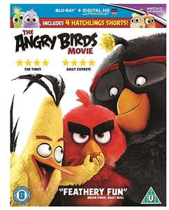 The Angry Birds Movie [2016] [Region Free] Blu-ray + Ultraviolet copy £2.99 (Prime) £5.98 (Non Prime) @ amazon.co.uk