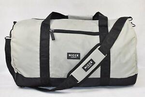 Nicce Canyon Grey Black Holdall £14.99 Delivered @ Big Brand Outlet / eBay