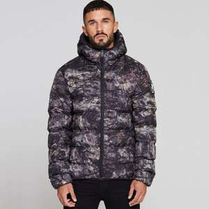 Mens Good For Nothing Romero Element Rock Camo Puffer Jacket £24.99 Delivered @ Big Brand Outlet / eBay