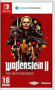 Wolfenstein II SWITCH £26.59 at Amazon France