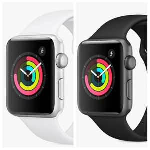 Apple Watch Series 3, GPS, 42mm Aluminium Case with Sport Band, Black & White Options £229 @ John Lewis & Partners £119 with trade