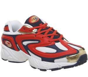 Fila Buzzard Trainers in Fiery Red & White £25 at Offspring with free click & collect
