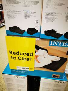 Intex double inflatable sofa bed £12.50 instore @ Tesco