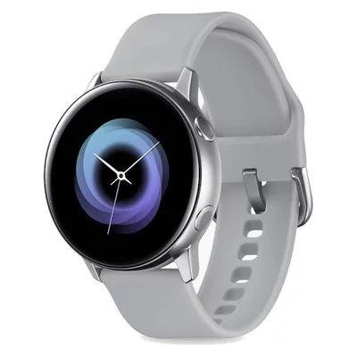 Samsung Galaxy Watch Active Silver Grey Silicone - Very Good Condition £114.99 @ Music Magpie
