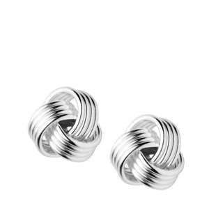 Links of London Essentials Knot Stud Earrings Sterling Silver £13.15 delivered at QVC