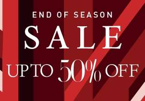 End Of Season Sale Up To 50% Off at Hotter Shoes
