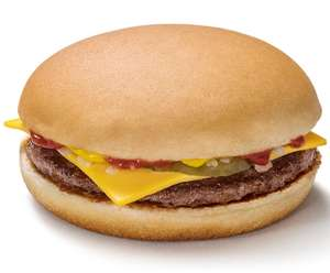 Free Cheeseburger When You Sign Up In The McDonald's App
