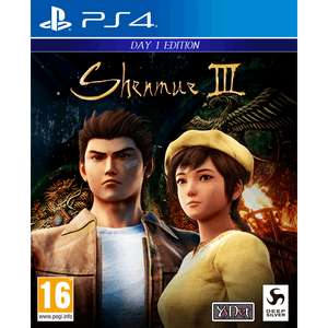 Shenmue III Day One Edition PS4 Game for £27.60 Delivered With Code @ 365Games