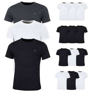 Calvin Klein Mens 2019 3-Pack CK Breathable Crew Performance T-Shirts £25.46 delivered @ eBay / golfbase-zactive
