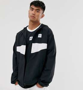 Adidas Skateboarding lightweight jacket in black £48.50 @ Asos