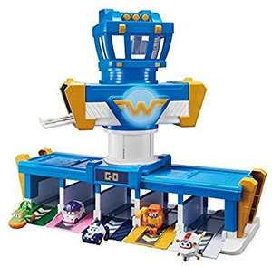 Super Wings Missions Team Series 3 | Plane | Bot | Airport Adventure Playset | 2 Inch Figure, Mixed £32.39 @ Amazon