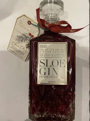 Baylis & Harding The Fuzzy Duck Sloe Gin Fragranced Luxury Bubble Bath Decanter £3 instore at Morrison's