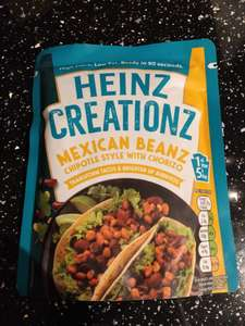 Heinz Mexican Beanz 20p in-store poundstretcher Romford
