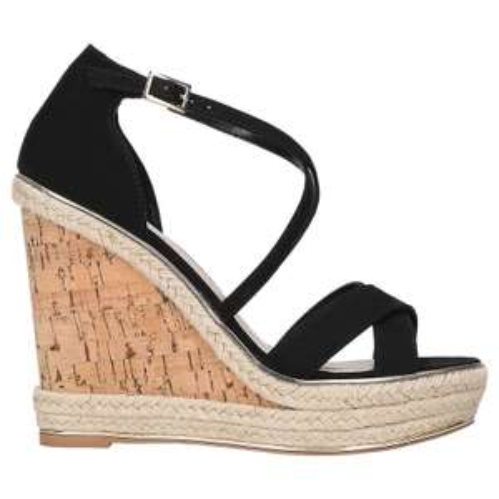 Carvela Sublime Wedge Heel Sandals, Black - Sizes 4,5,6 Available - £19 @ John Lewis & Partners (+£3.50 Delivery)