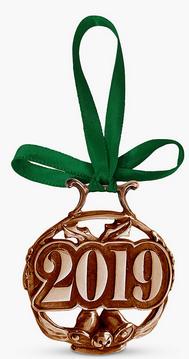 English Pewter Company 2019 Copper Christmas Tree Decoration - £10.50 (+£3.50 Postage) @ John Lewis & Partners