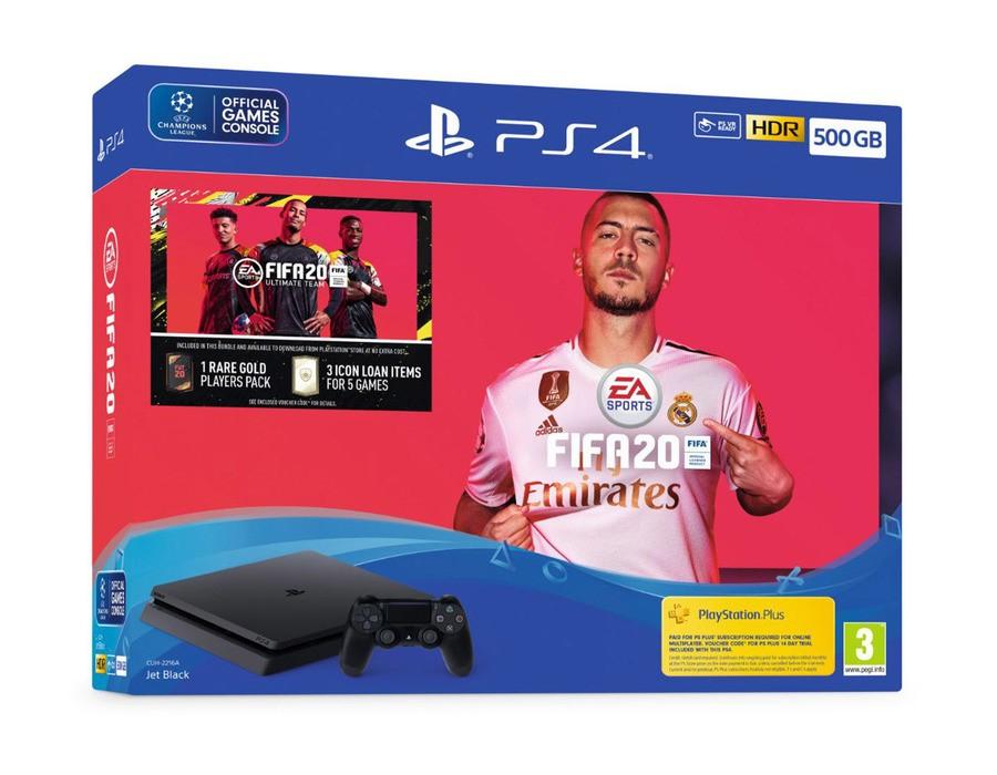 Sony PS4 500GB Console & FIFA 20 Bundle - £189.85 Delivered @ ShopTo