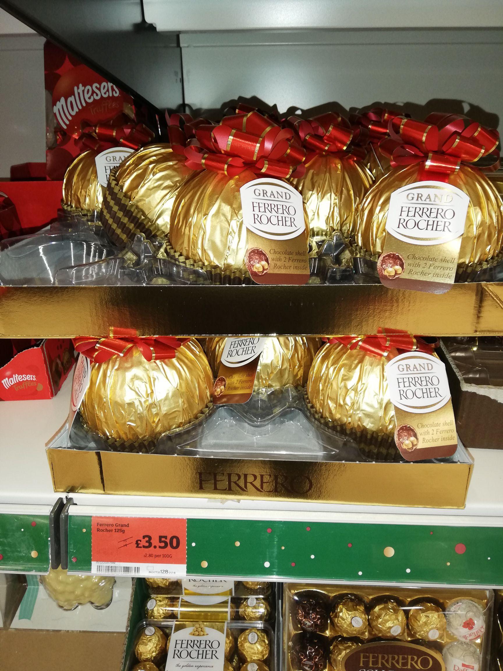 Ferrero Grand Rocher - £3.50 instore @ Sainsbury's (Matlock)