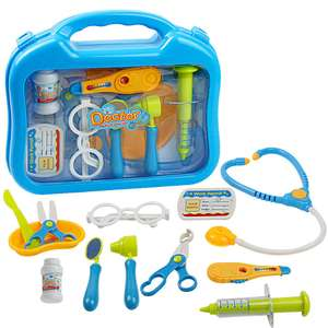 Doctor Medical Set for Kids Age 3+, 10pcs - £2.69 delivered with prime @ Amazon Warehouse - Used Like New (+£4.49 non-Prime)