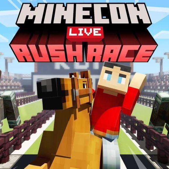 MINECON LIVE: RUSH RACE! - Free Minecraft Content