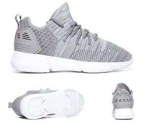 Womens Cortica Infinity 2.0 Knit Grey/White Trainers (PF1) Size 3,4,5 - £9.99 Sold by bigbrandoutlet2015 @ Ebay