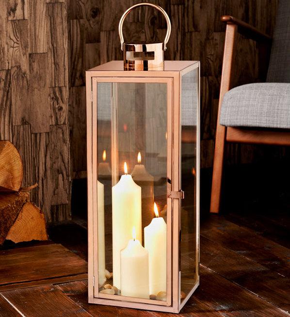 Copper Lantern - £1 Instore @ B&M (B&M Home Store With Garden Centre Willesden London)