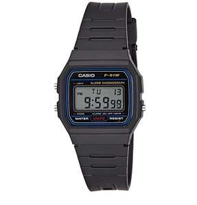 Casio Collection Unisex Adults Watch F-91W - £8.06 @ Amazon Prime (£4.49 Non-Prime)