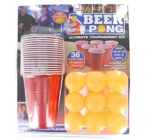 Beer pong set - 36 piece set for just £4.01 + £4.49 NP @ Amazon