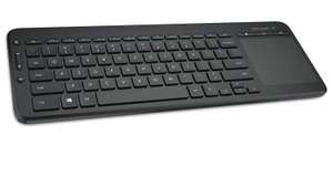 Microsoft All-in-One Media Keyboard with Integrated Track Pad - Monotone for £24.78 Delivered @ Amazon UK