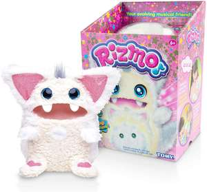 Rizmo Your Evolving Musical Friend | Interactive Plush Kids Toy with Fun Games in Snow, Berry or Aqua £30 @ Amazon