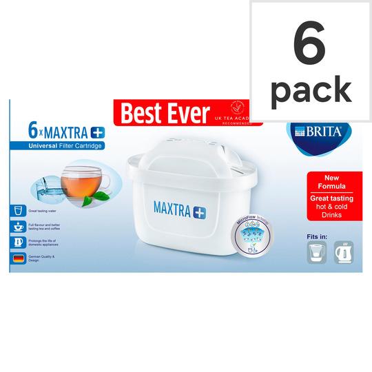 Brita Maxtra Plus Cartridges 6 Pack £20 Tesco