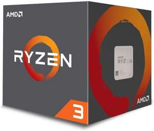 AMD Ryzen 3 1200 Processor with Wraith Stealth Cooler £48.48 Amazon sold by CPU-WORLD-UK LTD.