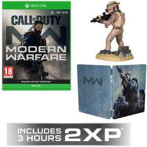 Call Of Duty Modern Warfare + GAME Exclusive 2XP £47.99 GAME