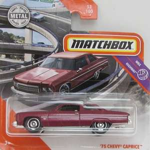 Chevy Caprice Classic Police Matchbox car Reduced in Tesco to £1