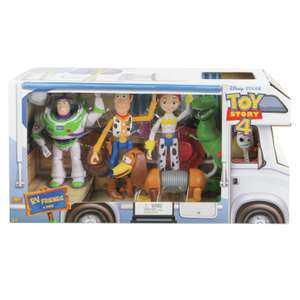Disney Pixar Toy Story 4 RV Friends 6 Pack Figures £45 Argos