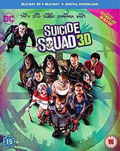 Suicide squad 3d blu ray £4.30(£2.99 p&p non prime) Sold by Quality Media Supplies Ltd. and Fulfilled by Amazon.