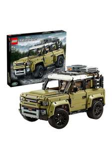 LEGO Technic 42110 Land Rover Defender 4x4 Car Model for £125.99 / £79.98 with code at VERY