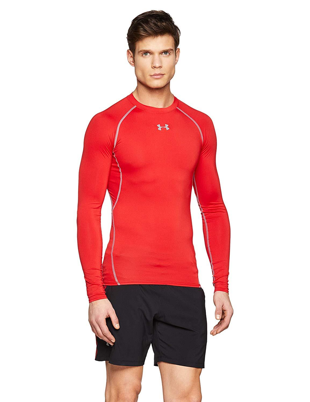 Under Armour Men's Men's Compression Shirt Long Sleeve £11.98 at Amazon (+£4.49 non prime)