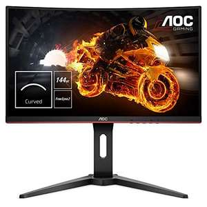 "AOC C24G1 23.6"" FHD LED 144Hz Freesync VA Curved Monitor £134.47 at Amazon Germany"