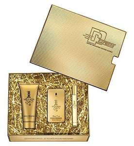 Save up to 1/2 price on selected fragrance gift sets at Boots - Paco Rabanne 1 Million Eau de Toilette 50ml Gift Set £33