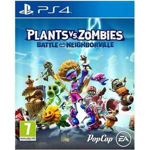Tesco in store 2 for £35 selected games including plants vs zombies battle for neighborville + rage 2 ps4 and xbox