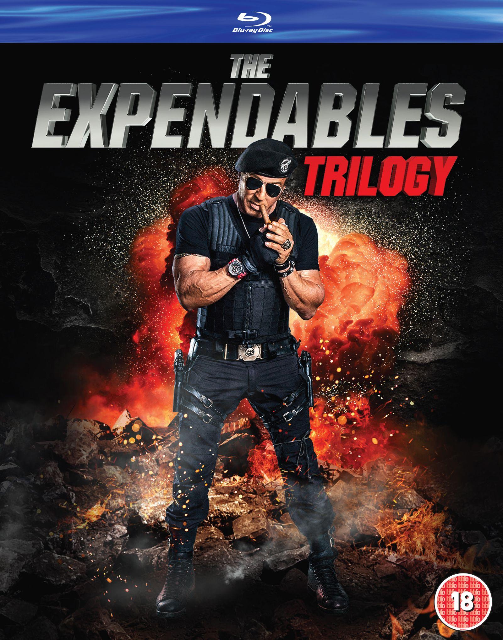 The Expendables trilogy blu ray £7 @ Amazon (£2.99 p&p non prime) 4%tcb