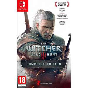 The Witcher 3 Complete Edition (Nintendo Switch) - £35.95 @ TheGameCollection