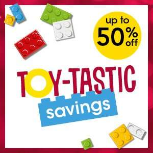 Selected toys at Wilko HALF PRICE!